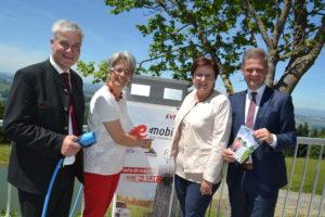 Andreas Hanger unterstützt e-Mobilität im Mostviertel