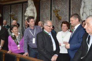 Seniorenbund Ybbsitz auf Besuch im österreichischen Parlament bei Andreas Hanger